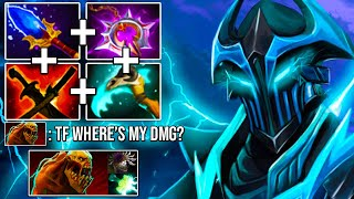 ELECTRIC IMBA HARD CARRY RAZOR! Steal All DMG + Scepter Delete Monster 7.24 Dota 2