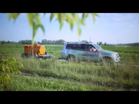 Прицеп-цистерна для перевозки дизельного топлива