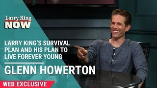 Glenn Howerton And Pete Holmes Discuss Larry's Survival Plan and His Plan To Live Forever Young