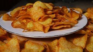 ক্রিস্পি আলুর চিপস বানানো এত সহজ জানলে প্রতিদিন বানাবেন । Easy crispy Potato chips