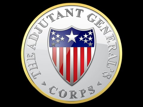 List of Adjutants General of the U.S. Army