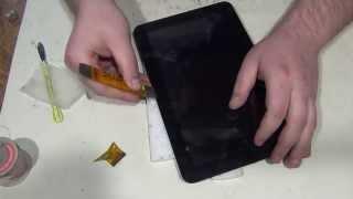 O'zgartirish planshet Supra M121G uchun sensorli ekran