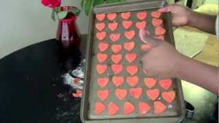 Happy Valentine's Day POOCHES! A festive dog treat tutorial