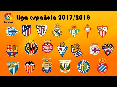 Conoce a los 20 equipos de la liga española Temporada 2017/2018