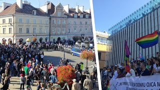 Kontrmanifestacja przeciwko Marszu Równości czyli Walka o normalny LUBLIN !