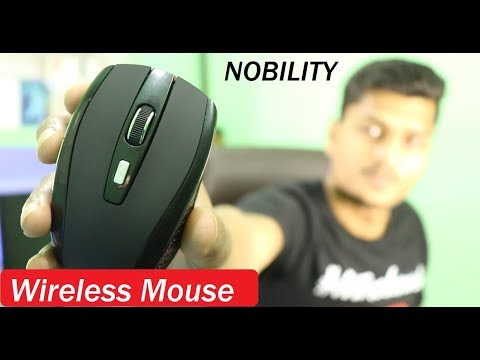 Best Budget Wireless Mouse Nobility NOBC021 Unboxing and Review in Hindi | Mr Technical