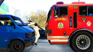 Wird er diesen Unfall in GTA Online überleben können?