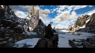 The Witcher 3 Ultra Graphics Mods Gameplay Showcase - 4K