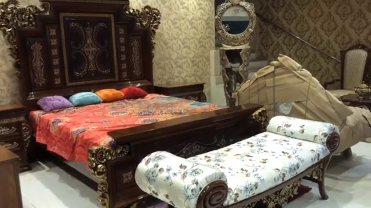 Chiniot Furniture Stan Designer Market Bed Set Sofas Tables Chairs With Price