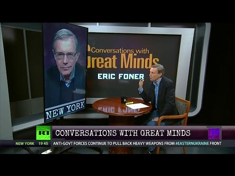 Conversations w/Great Minds P2 - Prof Eric Foner - The Hidden History of the Underground Railroad