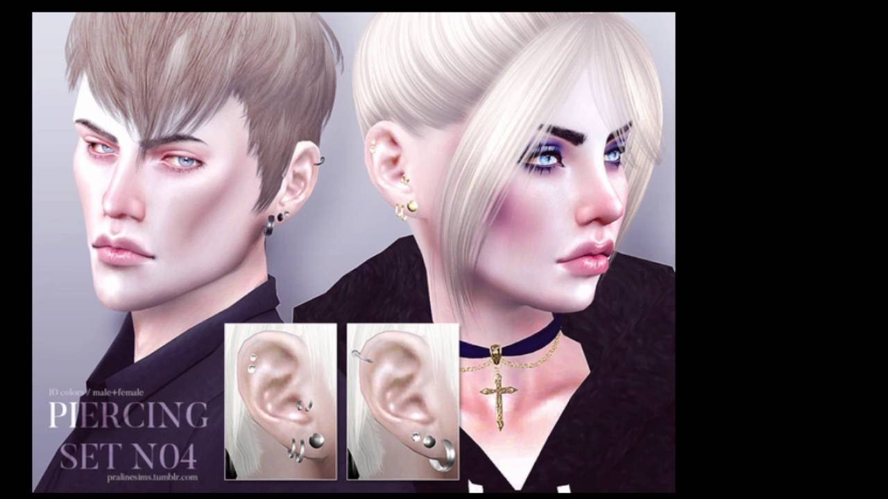 The sims 4 hair accessories - The Sims 4 Hairstyles And Accessories Cc