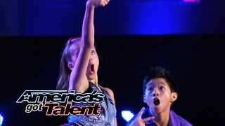 Kaycee & Gabe: Young Hip-Hop Dance Duo Performs