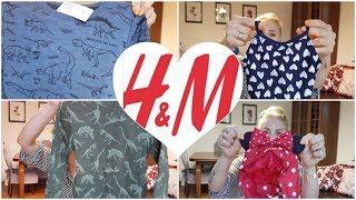 Unboxing: Ubranka dla dzieci z H&M