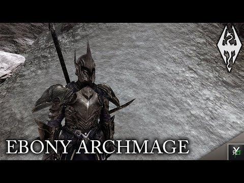 Full Download] Skyrim Remastered Ebony Archmage Armor Mod Showcase