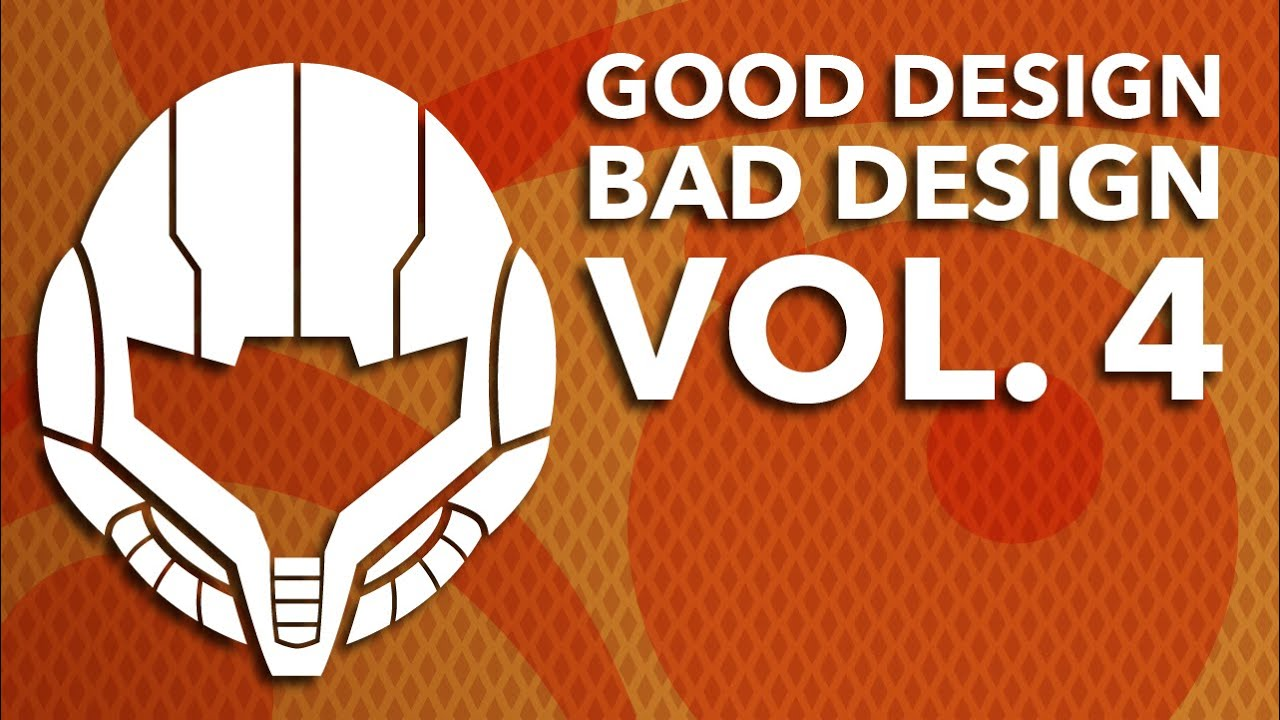 Bad Design Youtube Good Design Bad Design Vol 4 The Best And Worst Of Video Game Graphic Design Design Doc