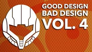 Good Design, Bad Design Vol. 4 - The Best and Worst of Video Game Graphic Design ~ Design Doc