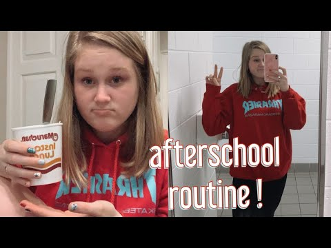 after school night routine - vlogmas day 13