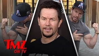 Mark Wahlberg Says He's All Natural! | TMZ TV