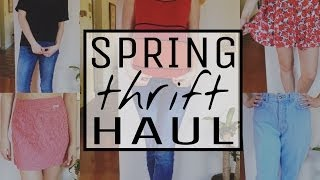 Spring Thrift Haul & Try-On! Thumbnail