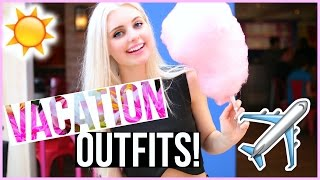 Outfit Ideas for Vacation 🌸  Spring Break Lookbook! | Aspyn Ovard