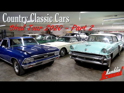 Shed Tour Part 2 - Country Classic Cars - June 2020