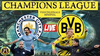 ? LIVE | Manchester City vs Borussia Dortmund | Die virtuelle Südtribüne | FANTALK ??