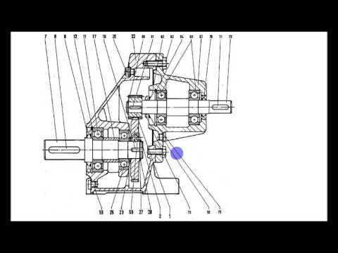 analyse d'un plan en coupe reducteur mecanique 1/3