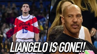 LiAngelo Ball LEAVING UCLA! LaVar Pulls Him From School To Join BBBU!?