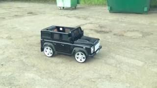 Land Rover Defender детский электромобиль(Land Rover Defender детский электромобиль., 2016-07-12T11:21:47.000Z)