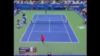 Большой теннис в США! Зрители шокированы!