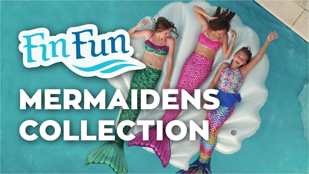 NEW Mermaidens Mermaid Tail Collection for Kids & Adults | Fin Fun Mermaid