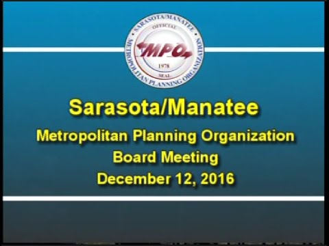 MPO Board Meeting 12/12/2016