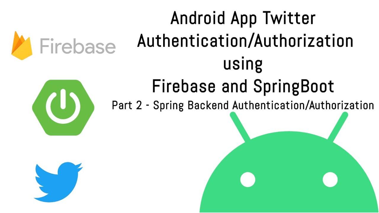 Twitter Authentication using Firebase