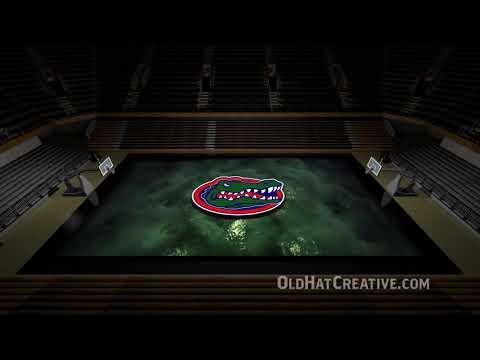 Florida Gators Basketball | Rainesville Court Projection | 2017-18