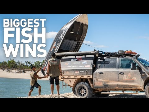 Biggest Fish Wins! — Coastlines Of The Cape (Cape York, Australia)
