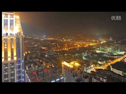 Fantastic Time-Lapse Video of Zhongshan City, Guangdong Province, China (Day & Night)