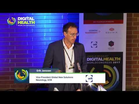 Digital Pharma - UCB Keynote - Erik Janssen - Digital World Health Congress
