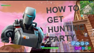 "How to Unlock the NEW Hunting Party Skin, ""A.I.M"" - Fortnite Challenges Tips and Tricks"