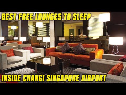 BEST PLACE TO SLEEP IN CHANGI AIRPORT SINGAPORE    OVERNIGHT IN CHANGI