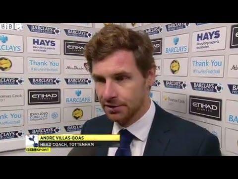 Manchester City 6-0 Tottenham - Andre Villas-Boas (24-11-13)