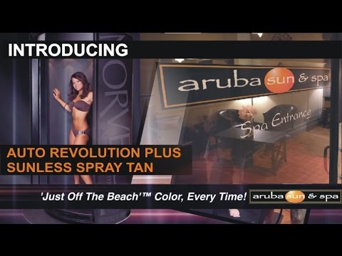 Introducing Revolution Plus: Spray Tan at Aruba Sun and Spa in Baltimore & Harford County, Maryland