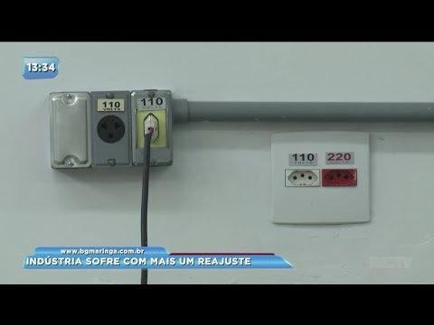 Conta de luz sofre reajuste de 17% para indústrias