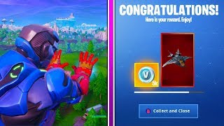 How To Get ENDGAME CHALLENGES and AVENGERS QUINJET GLIDER in Fortnite!