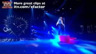 Wagner Sings Creep - The X Factor Live show 8 - Wagner Live On X Factor Rock Week - Wagner Creep