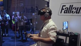 E3 2016: Watch Actor Brian T. Delaney Play Fallout 4 VR