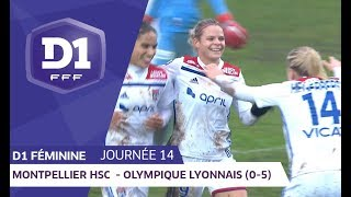 J14 : Montpellier HSC - Olympique Lyonnais (0-5) / D1 Féminine