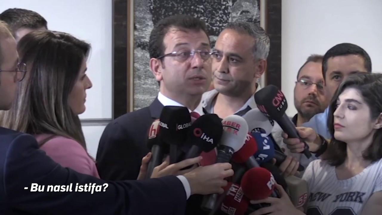 İstanbullulara ait olan şirketlerden ellerini çekmeliler ve istifa etmeliler. ekrem imamoğlu