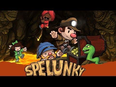 SPELUNKY (PC / XBL / PSN): exploración y tesoros    Sección Indie    Análisis / Review en Español HD