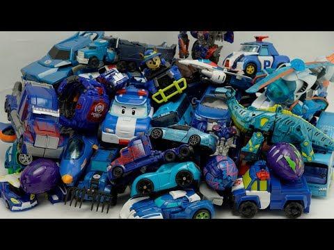 Optimus Prime Blue Car Transformers Hellocarbot Tobot Color тобот #трансформеры Truck Car Robot Toys