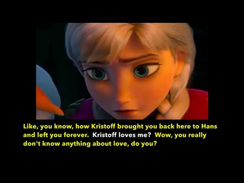 Learn/Practice English With MOVIES (Lesson #87) Title: Frozen